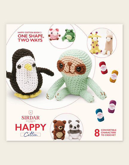 Sirdar Happy Cotton One Simple Shape 2 Pattern Book
