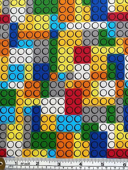 Lego Cotton Fabric