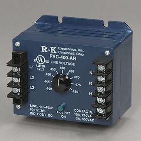 3Ø Voltage Monitor,380/415VAC 3Ø, DPDT