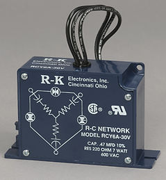 RCY6A-72 R-K 3PH 600VAC FILTER .47CAP/220RES W/72