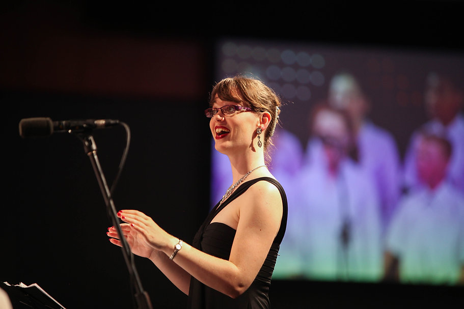Naomi Cooper, choral conductor