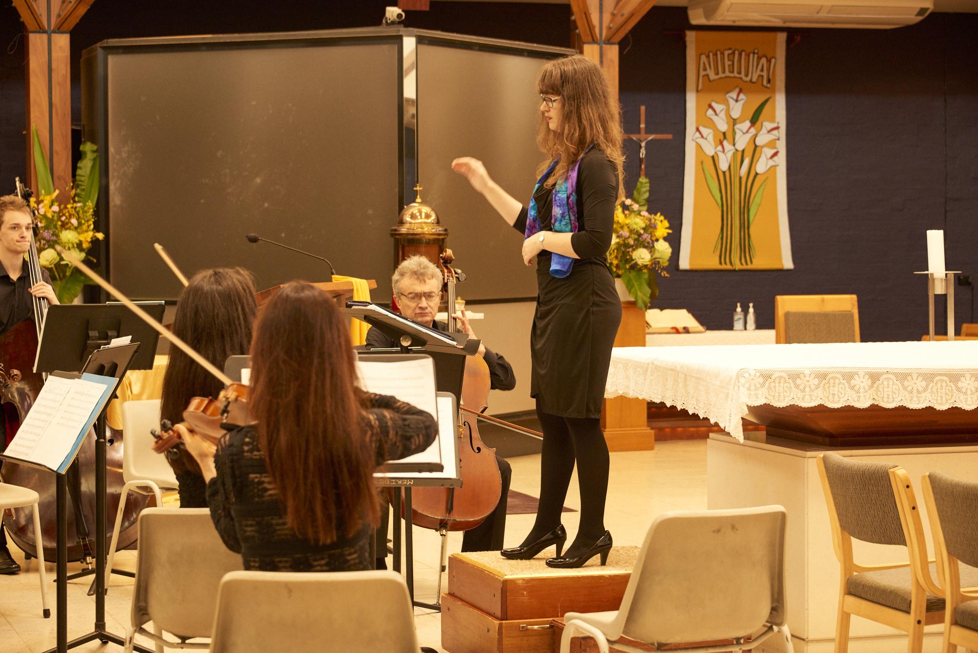 Naomi Cooper conductor