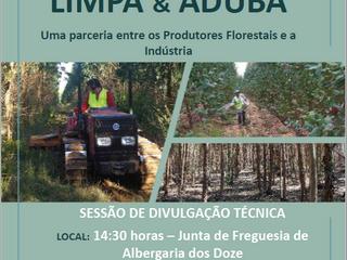 """21/10/2019: POMBAL: Sessão Projeto """"Limpa e Aduba"""", uma parceria CELPA / 2BForest"""