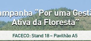"""FACECO 2018 - Campanha """"Por uma Gestão Ativa da Floresta"""""""