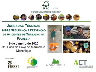 09/01/2020, Monchique: Jornadas Técnicas sobre Segurança e Prevenção de Acidentes de Trabalho na Flo