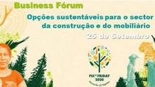 25/09: 2BForest apoia Business Fórum: Opções sustentáveis para o sector da construção e mobiliário