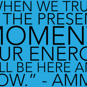 Trusting the Present Moment