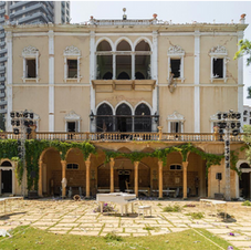 Sursock Palace without  windows & shutters