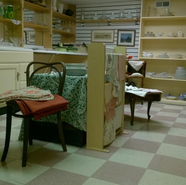 Vintage kitchen room