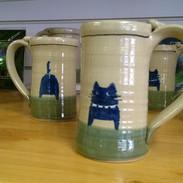Cat butt mugs