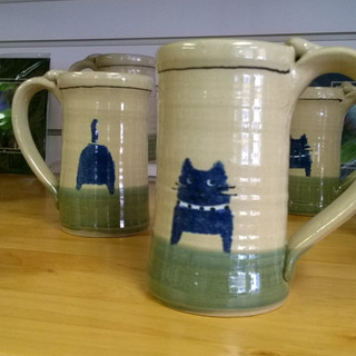 Cat butt mugs