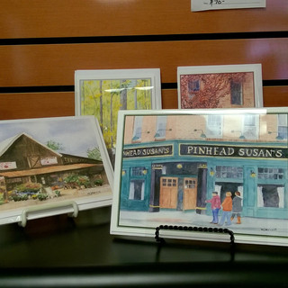 Greeting cards from local artists