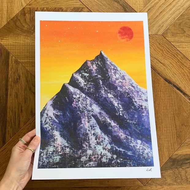 'Blood mountain'