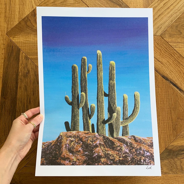 'Desert row'