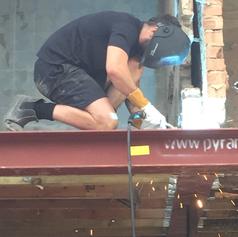 On-Site welding.