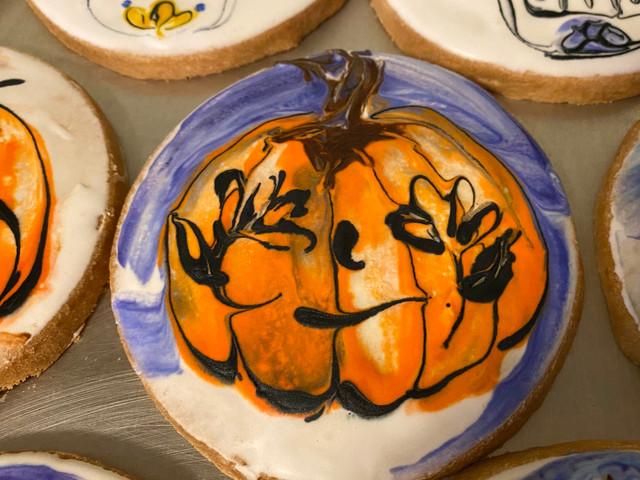 #1 Halloween cookies