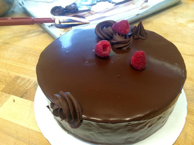 devil's food ganache cake