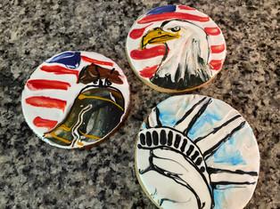 custom patriotic cookies
