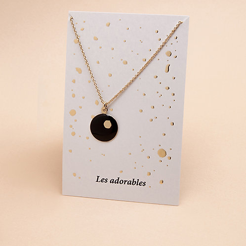 ADORABLES Collier Hexagone