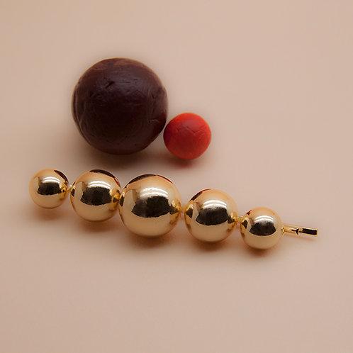 Barrette CIRCLE 5 Perles
