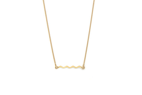 Collier SUNSET Zig Zag