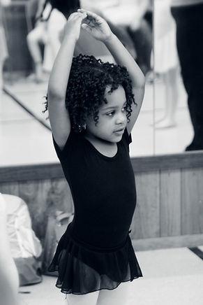 little girl dance, young ballet