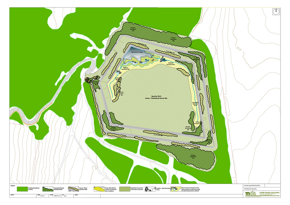 MDA - Hazelbank Quarry Restoration Plan
