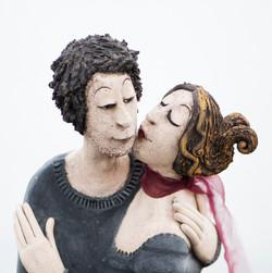 det startet med et kyss
