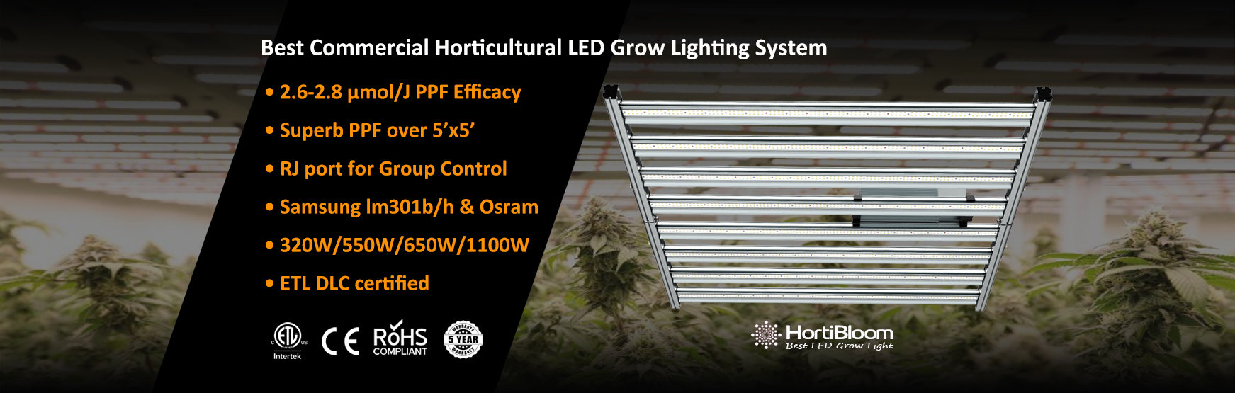 hortibloom horticulture mega plus led gr