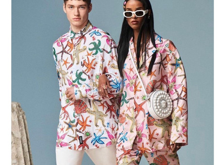 Versace: The Tropical Vibes We're Craving