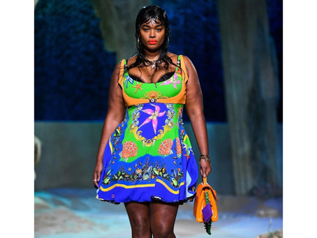 Versace: Vibrant Colors, Bold Motifs, The Talk of PFW