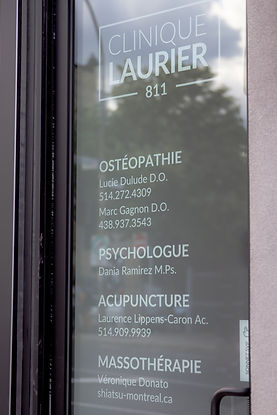Clinique Laurier 811 Plateau Mont-Royal