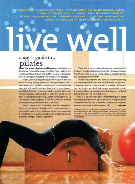 A User's Guide to Pilates