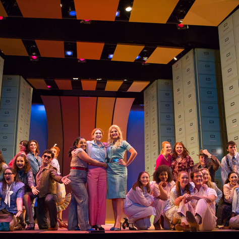 Violet in 9 to 5 with Catholic University