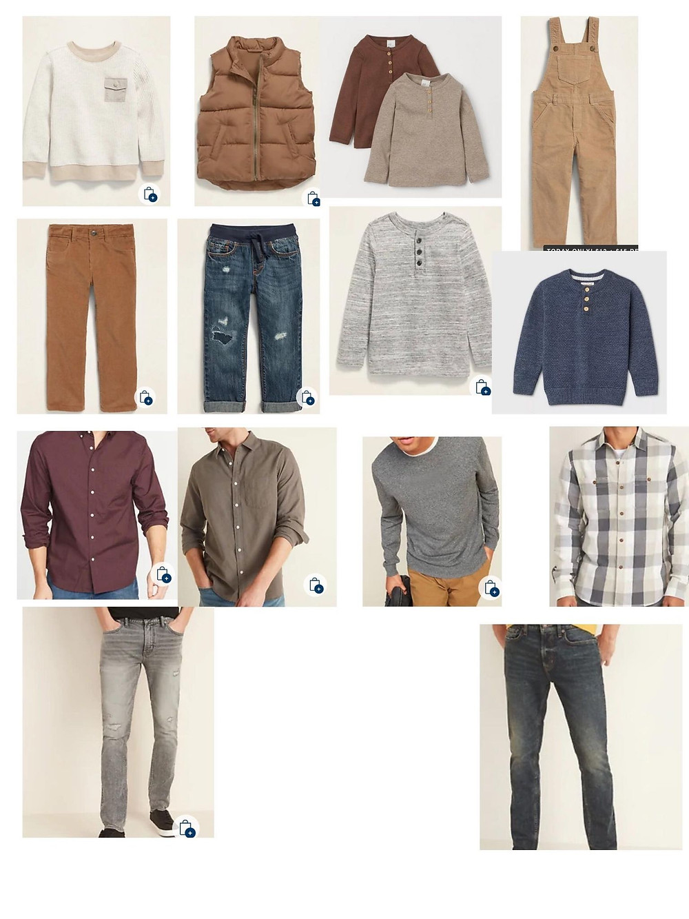 mens family photo outfits