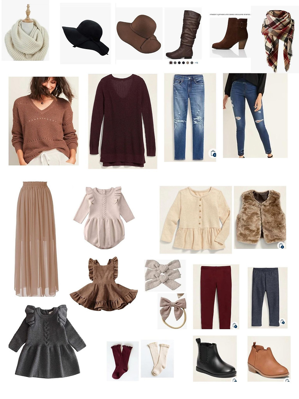 womens family photo outfits