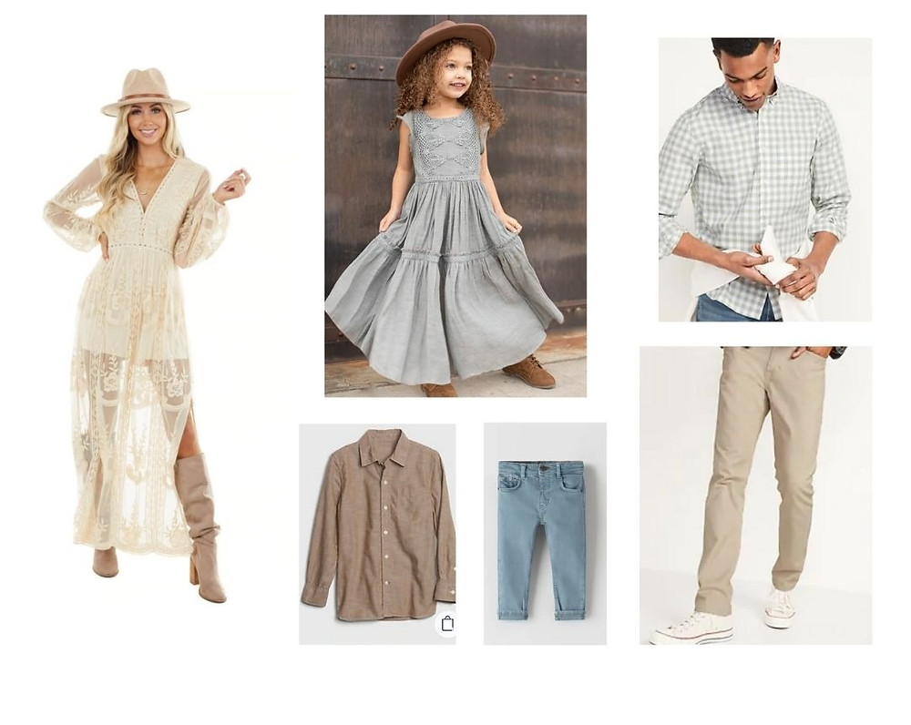 Spring Family Photo Outfits