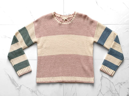 Multi Color Stripped Sweater