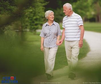 Can Orthotics Help the Elderly Improve B