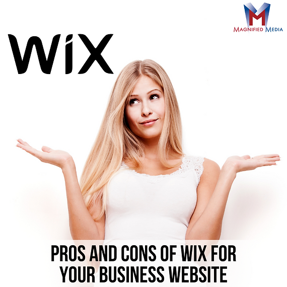 Pros and Cons of Wix for Your Business W