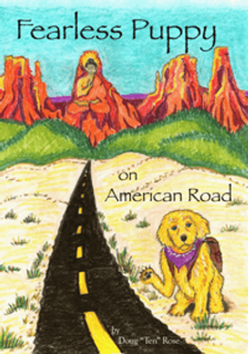 "Fearless Puppy on American Road by Doug ""Ten"" Road"