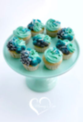 Sea Shades Cupcakes