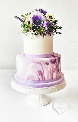 Blueberry Marble Cake
