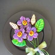 Spring Cookie Bouquet Purple