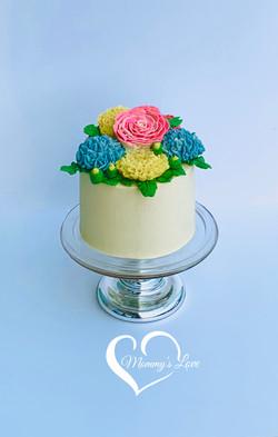 Spring Bouquet Cake(W)