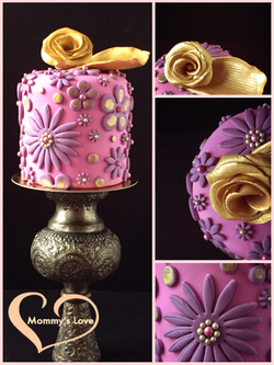 Pink, Purple & Gold