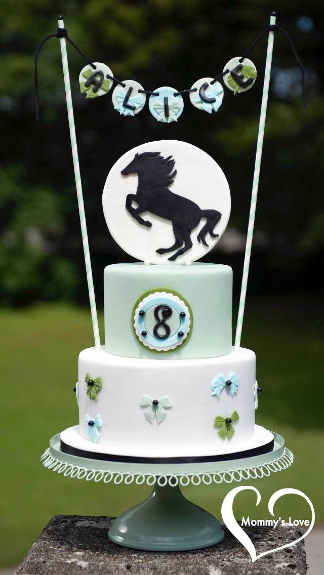 Prancing Stallion Cake