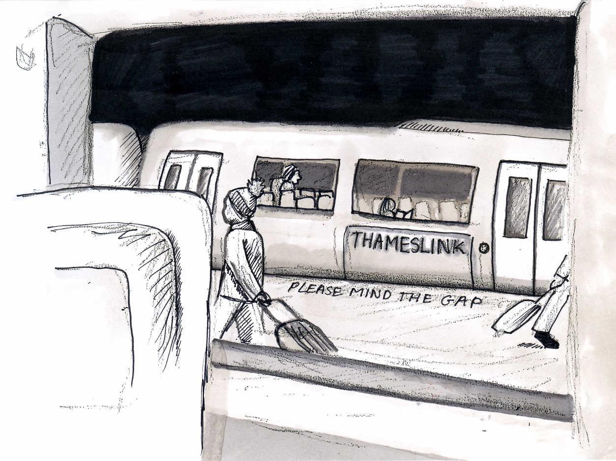 Brighton Station sketch