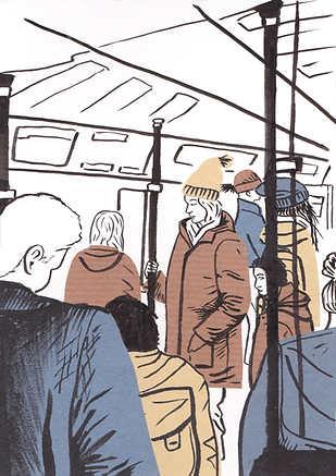 Berlin S-Bahn collage