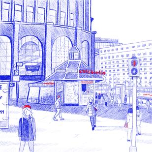 Berlin digital illustration